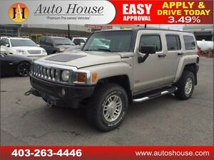 2007 HUMMER H3 SUV LEATHER 90 DAYS NO PAYMENTS!