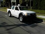2005 Nissan Navara D22 MY2003 DX White 5 Speed Manual Utility Southport Gold Coast City Preview