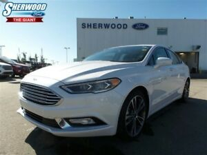 2017 Ford Fusion Leather Interior, Navigation, Moonroof