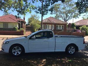 2008 Ford Falcon FG Ute Super Cab White 5 Speed Sports Automatic Utility Croydon Burwood Area Preview