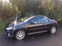 Peugeot 206cc Convertible- Stylish run around car with fully functioning roof!