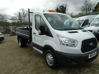 e3f0f27bf25450 Ford Transit 350 L2 SINGLE CAB TIPPER 125PS EURO 5 DIESEL MANUAL WHITE  (2015)