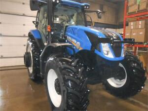 2017 NEW HOLLAND T6.175 MFWD TRACTOR