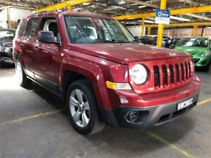 2012 Jeep Patriot MK MY2012 Sport Red Manual Wagon Hamilton North Newcastle Area Preview