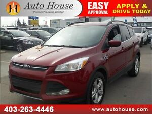 2014 FORD ESCAPE SE ECOBOOST 4WD LEATHER BCAM PANORAMIC ROOF
