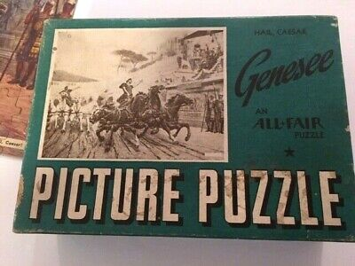 Vintage Genesee Picture Puzzle