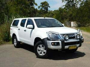 2015 Isuzu D-MAX MY15 LS-M Crew Cab White 5 Speed Sports Automatic Utility