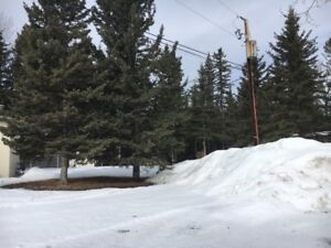 Seasonal Campsite for rent in Sundre