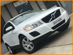 2011 Volvo XC60 DZ MY12 D5 Teknik White 6 Speed Automatic Geartronic Wagon Blacktown Blacktown Area Preview