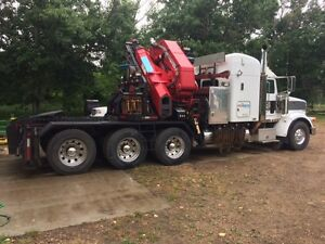 35T Picker truck. Like new. Hardly used