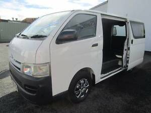 2007 TOYOTA HIACE 3.LTR DIESEL LWB VAN - MANUAL - NICE NEAT VAN Currumbin Waters Gold Coast South Preview
