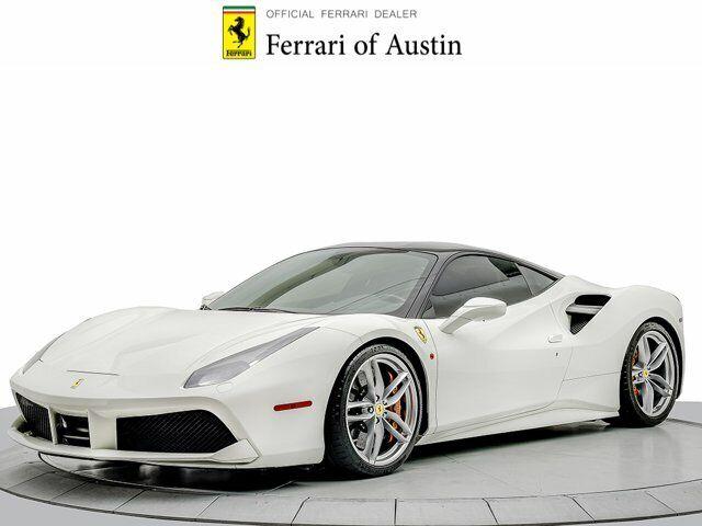 2017 Ferrari 488 GTB GTB 4735 Miles Bianco Avus 2dr Car Twin Turbo Premium Unlea