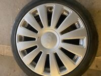 """Audi 18"""" Wheels and Tyres"""