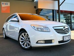 2013 Opel Insignia IN Sports Tourer White 6 Speed Sports Automatic Wagon Fawkner Moreland Area Preview