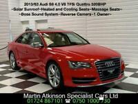 2013 63 Audi S8 4.0 V8 TFSi Quattro 520BHP Automatic