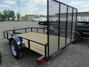 6x10 Utility Trailer: 36 mon. payment plan available! Kitchener / Waterloo Kitchener Area image 2