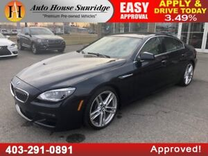 2014 BMW 6 Series 640i xDrive M PACKAGE SEDAN XDRIVE AWD NAVIGAT
