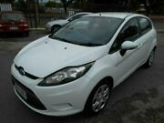 2009 Ford Fiesta WS CL White 4 Speed Automatic Hatchback Woodville Charles Sturt Area Preview