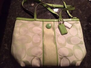 Authentic Coach Tote and Messenger/Diaper Bags