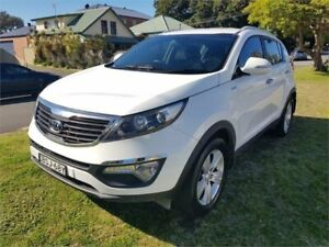 2010 Kia Sportage SL SLi(AWD) White 6 Speed Automatic Wagon Broadmeadow Newcastle Area Preview