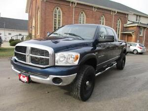 2007 Dodge Ram 1500 SLT  ~~ MEGA-CAB~~  4X4  $10,999