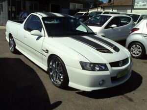 2002 HOLDEN SS UTE SS SS VU White 4 Speed Manual Utility Punchbowl Canterbury Area Preview