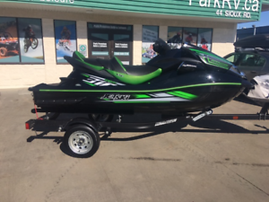 ONLY $99 BI-WEEKLY! 2016 KAWASAKI ULTRA 310 SUPERCHARGED!!