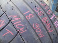 255/35/18 Michelin PilotSport ZP, BMW, Runflat, 4.8mm (454 Barking Rd, Plaistow, E13 8HJ) Used Tyres