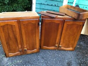 kitchen cupboards and drawers FREE