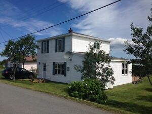 House for sale on beautiful Bell, Island $62,500.00