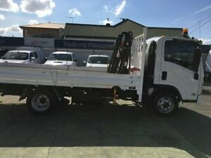 2011 Isuzu N Series NPR 300 White 4D CAB CHASSIS 5.2l Hamilton Newcastle Area Preview
