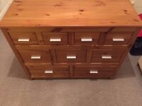 Pine Chest of Drawers/Sideboard