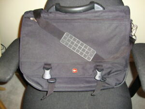 TWO large plastic tote bags
