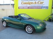 2003 MG TF 160 Green 5 Speed Manual Roadster Bundall Gold Coast City Preview