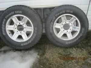 TIRES FOR RAM 2500