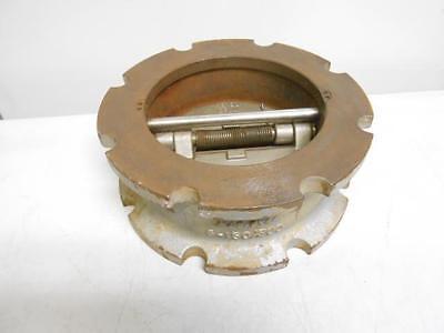 Titan Flow Control Cv42 Cv44 6  Cast Iron 150 Swing Gate Check Valve