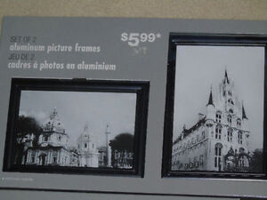 4 Picture Frames in original packaging