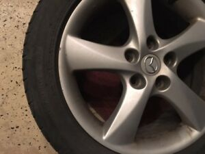 "4 MAGS 17"" bolt pattern 45X114.3 + 4 free summer tires"