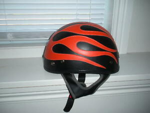 like new medium motorcycle helmet