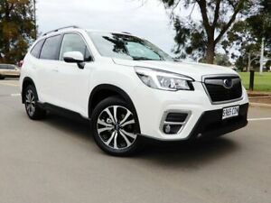 2020 Subaru Forester S5 MY20 2.5i Premium CVT AWD White 7 Speed Constant Variable Wagon Glenelg East Holdfast Bay Preview