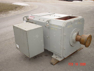 400 Hp Dc General Electric Motor 850 Rpm 4460 Frame Dpfv 500 V Arm.
