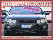 2007 Ford Falcon BF MkII XR6 Black 4 Speed Auto Seq Sportshift Utility Homebush Strathfield Area Preview