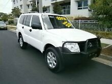 2013 Mitsubishi Pajero NW MY14 GLX White 5 Speed Sports Automatic Wagon Redcliffe Redcliffe Area Preview