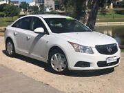 2012 Holden Cruze JH Series II MY12 CD White 6 Speed Sports Automatic Sedan Wodonga Wodonga Area Preview
