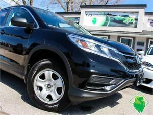 '15 Honda CR-V LX AWD+B/T+Cruise+HeatSeats+USB+MINT! $122/Pmts!