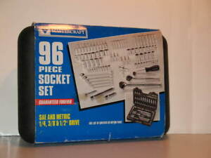 Mastercraft 96 Piece Socket Set