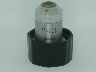 Leitz Wetzlar 1700.17 100.25 Microscope Objective 27a