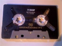 26 BASF CASSETTE TAPES INCLUDING 13 CHROME FOR £15 OR CHERRY PICK & MIX WITH THE 1000+ OTHER TAPES.