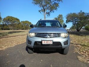 2009 Mitsubishi Triton ML MY09 GLX Double Cab Cool Silver Metallic 5 Speed Manual Utility Winnellie Darwin City Preview