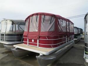 2016 Sweetwater double tube 90 hp Mercury
